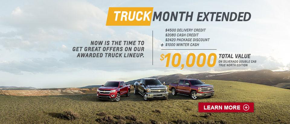 Truck Month Chevrolet (march)