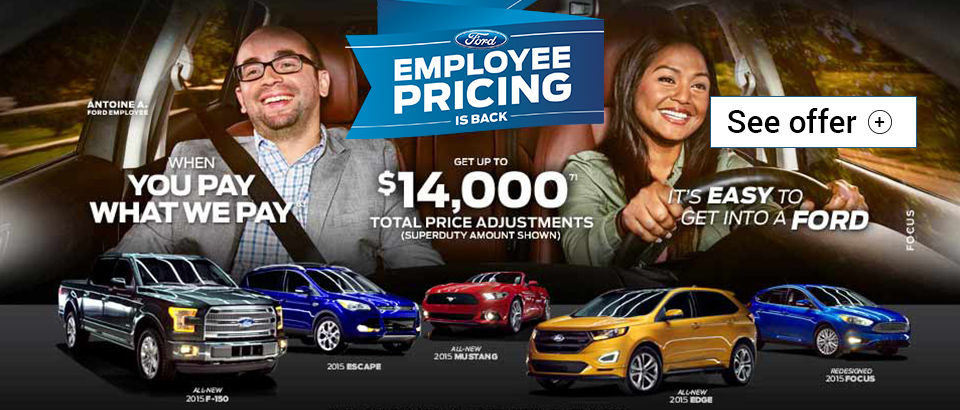 Employee Pricing on July