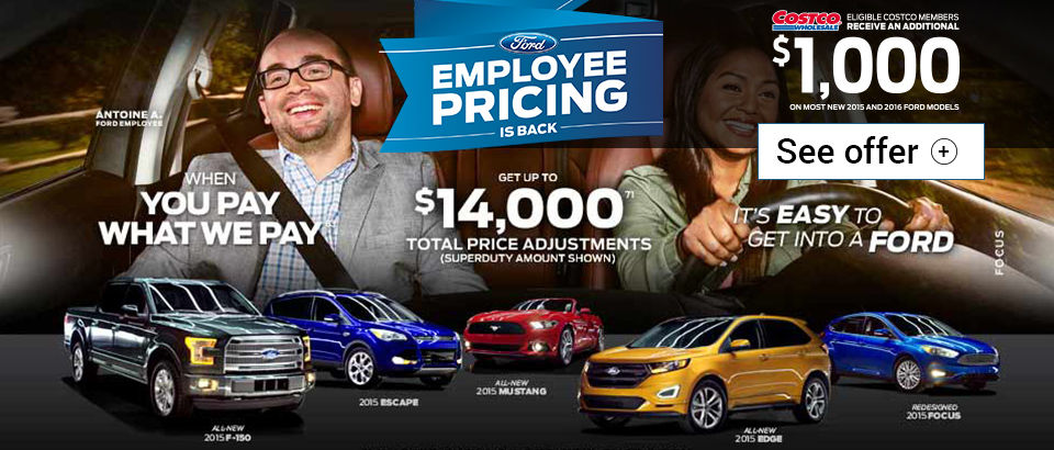 Employee Pricing on August