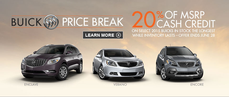 Buick Canada Wide Clearance