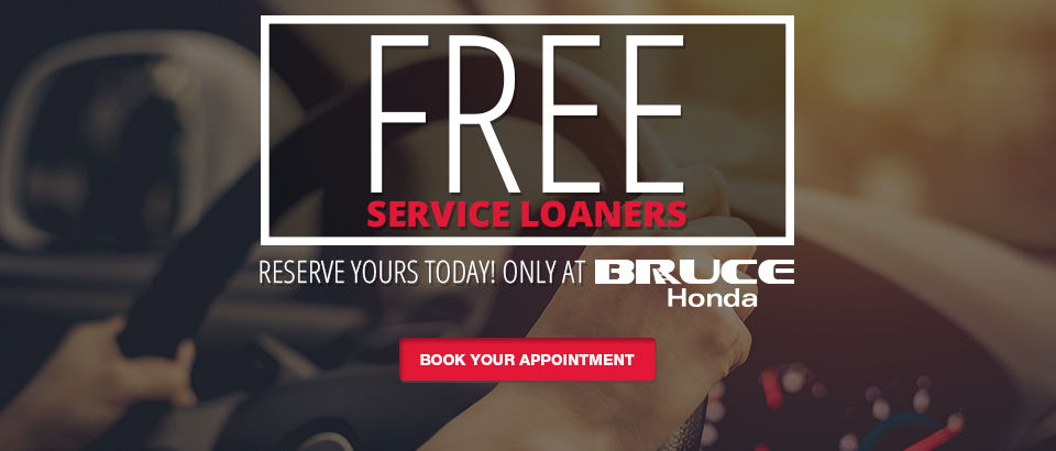 Free service loaners-Honda