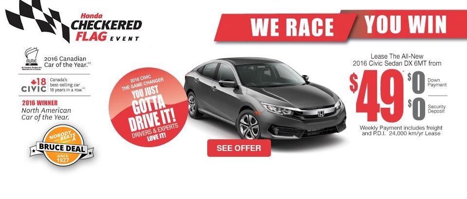 Honda Checkered Flag Event - Civic