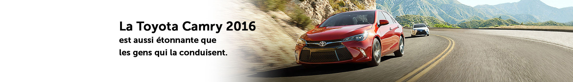 Promotions Camry 2016