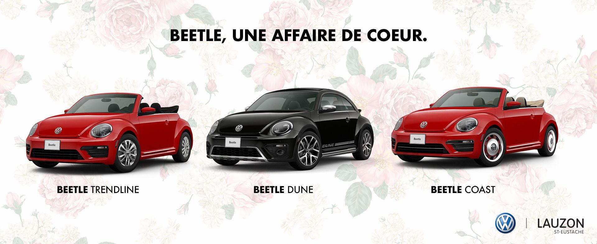 Beetle avec Roses