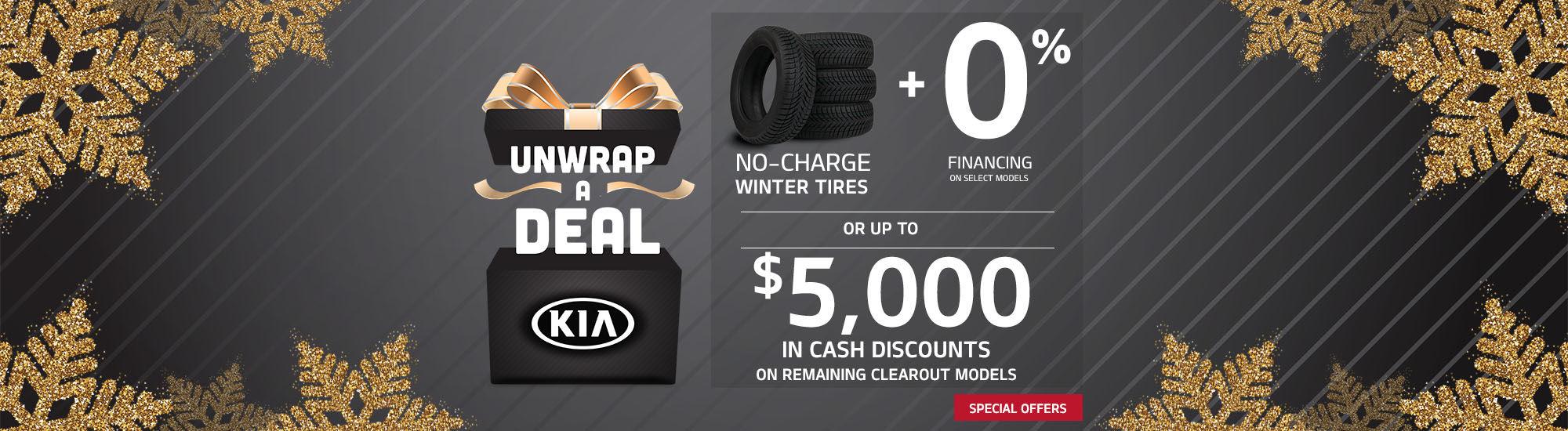Kia Unwrap a deal