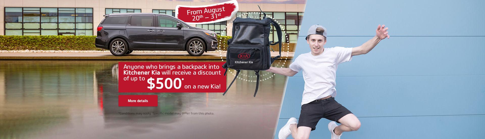 Donate a Backpack - Stuff a Sedona!