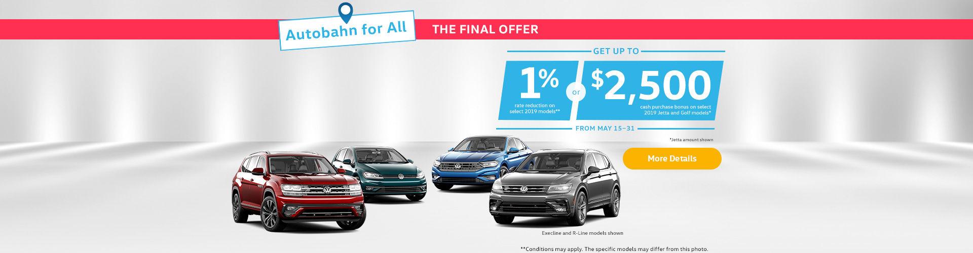 VW Final Offer