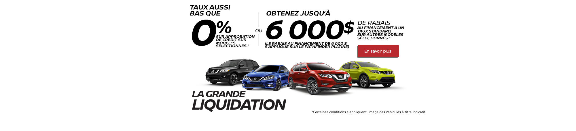La grande liquidation Nissan !