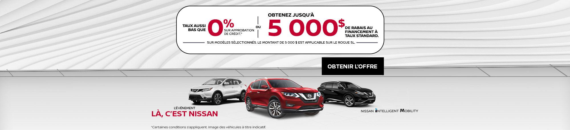 Événement Nissan