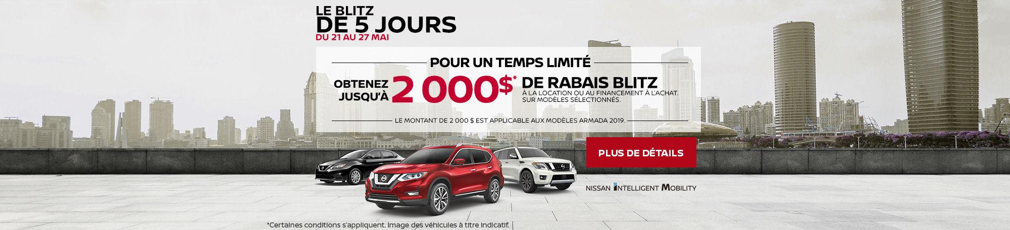 Événement Nissan (5-day)