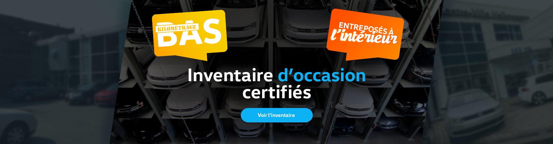 inventaire certifié