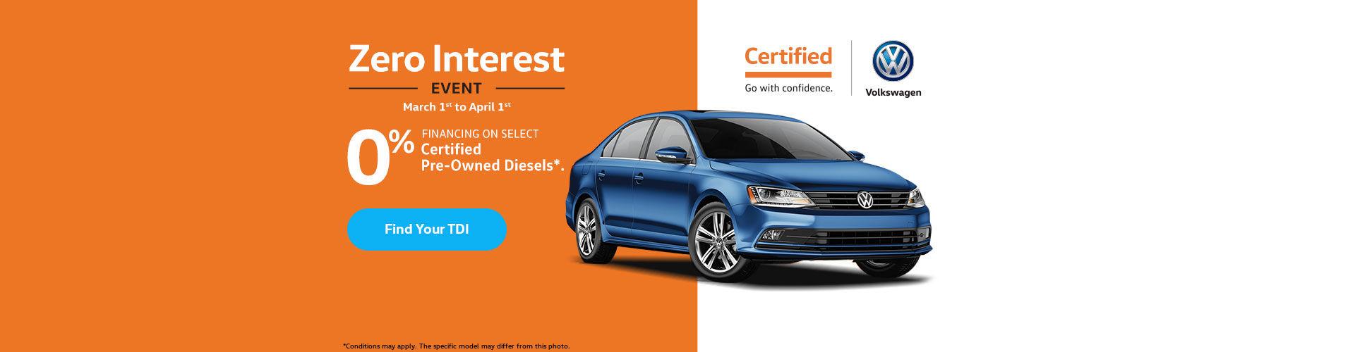 Volkswagen Zero interest
