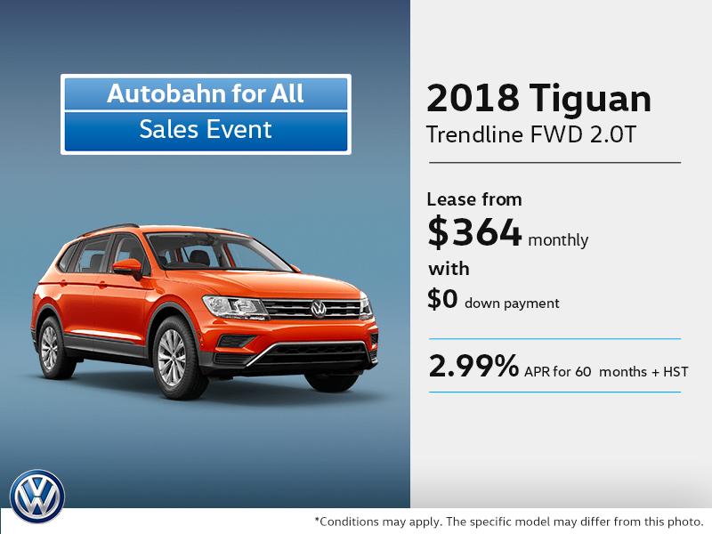 Volkswagen 0 down lease