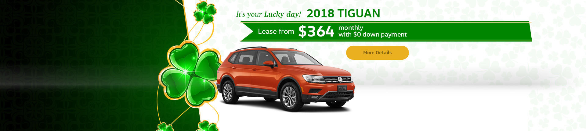 It's your Lucky day! 2018 Tiguan