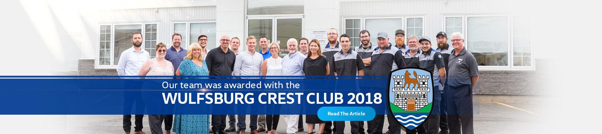 WOLFSBURG CREST CLUB 2018