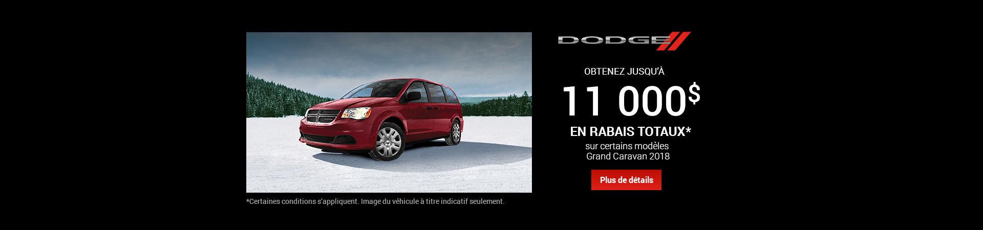 Vente mensuelle - Dodge