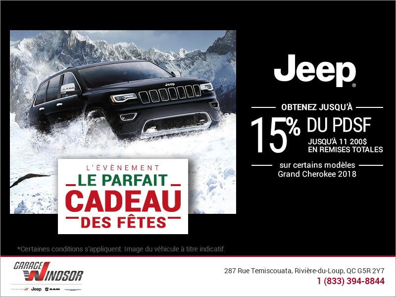 L'événement le parfait cadeau des fêtes de Jeep!