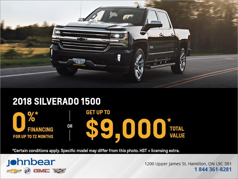 Finance the 2018 Chevrolet Silverado 1500