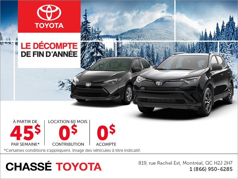L'événement mensuel de Toyota!