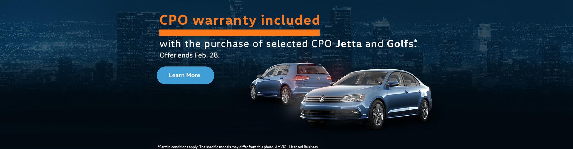 CPO warranty