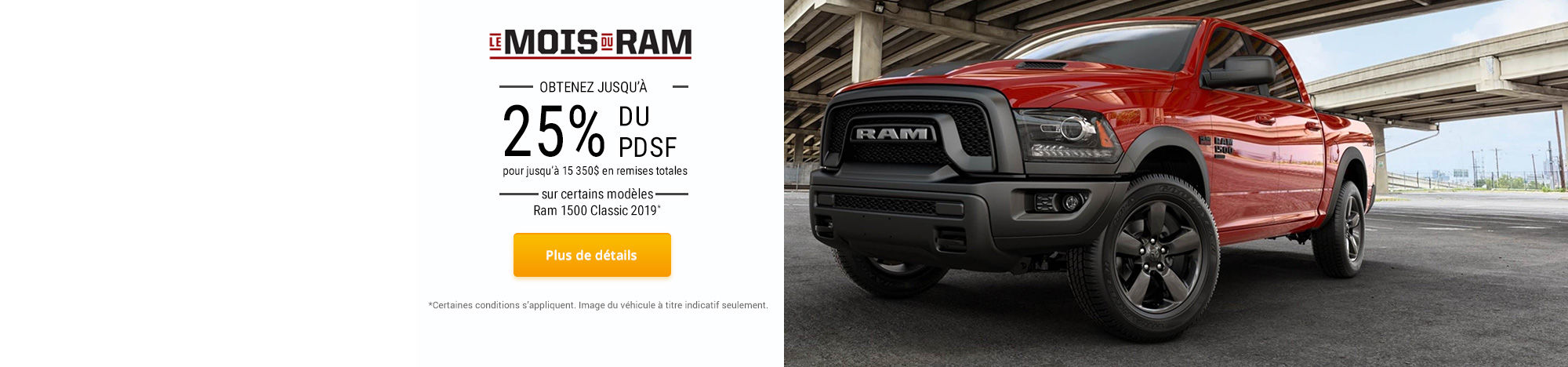 L'événement mensuel de RAM