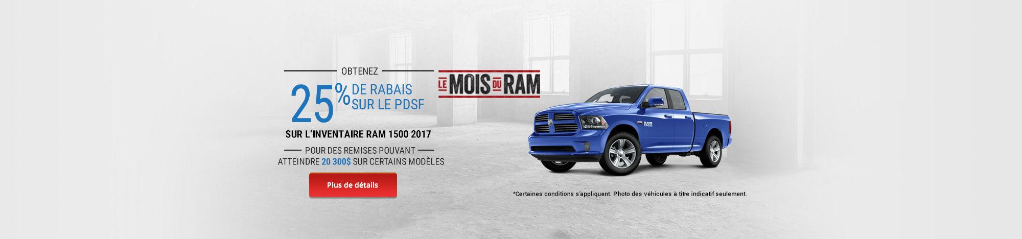 Le mois du RAM - RAM