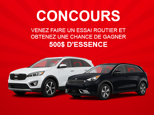 Concours: Gagner 500$ d'essence!