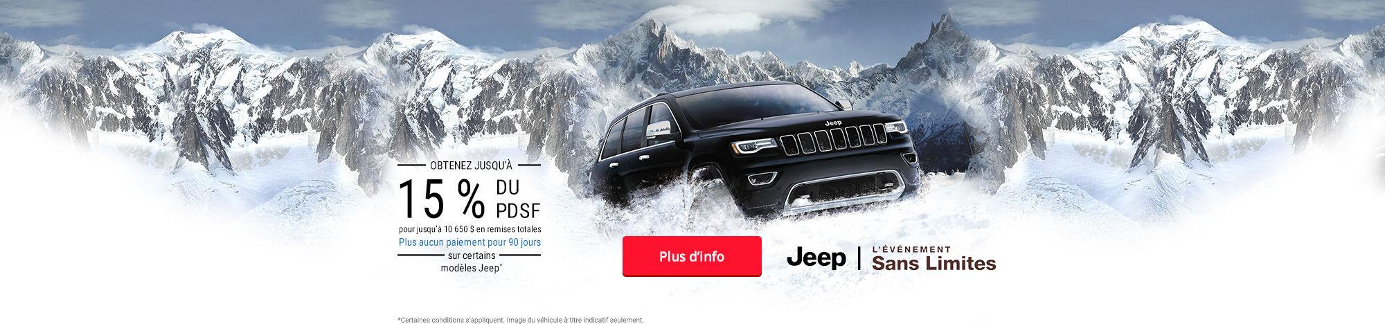 Événement - Jeep