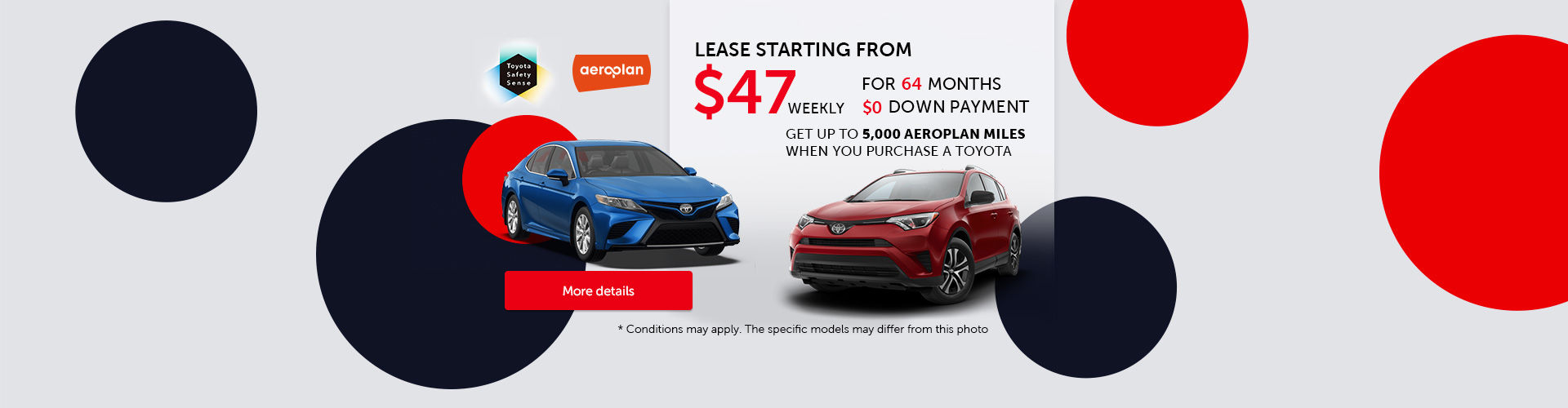 Toyota Monthly Sales Event