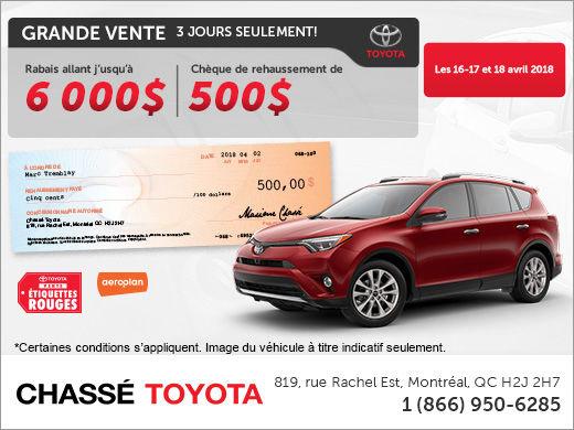 Événement Étiquettes Rouges Toyota