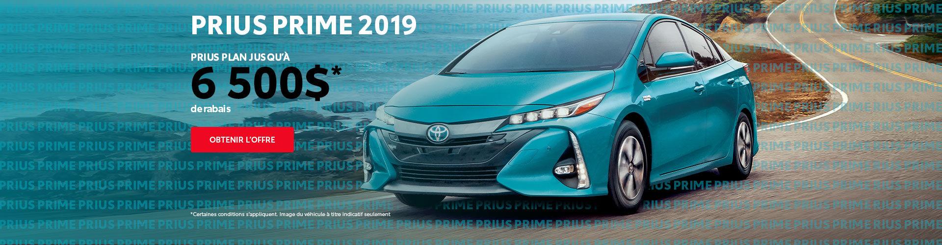 Prius Prime 2019 Rabais