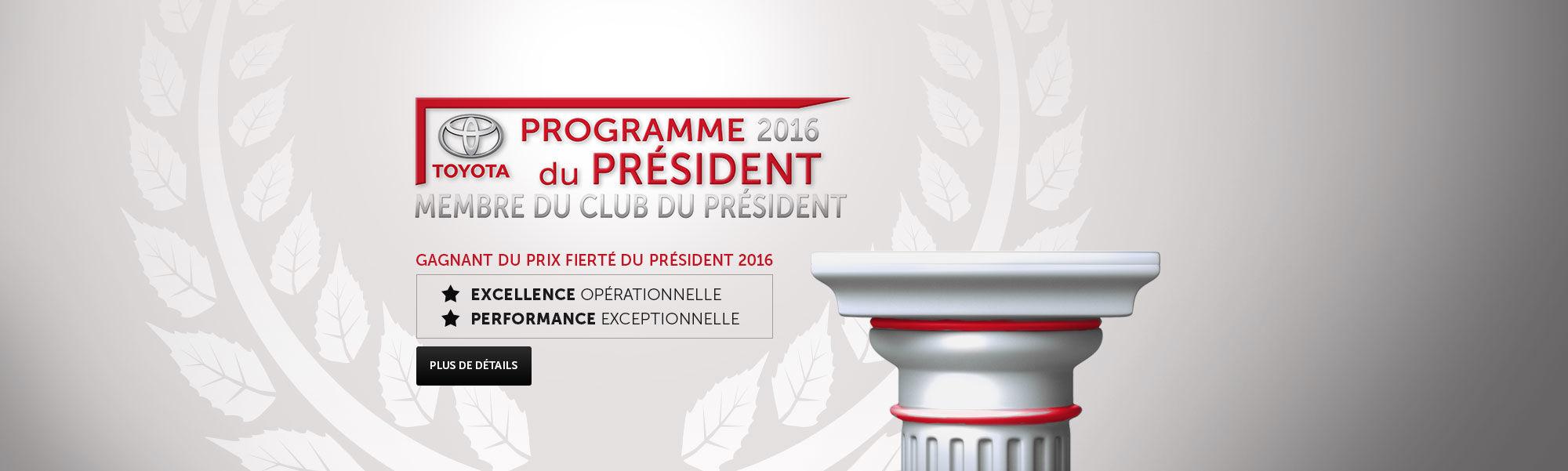 Programme Président