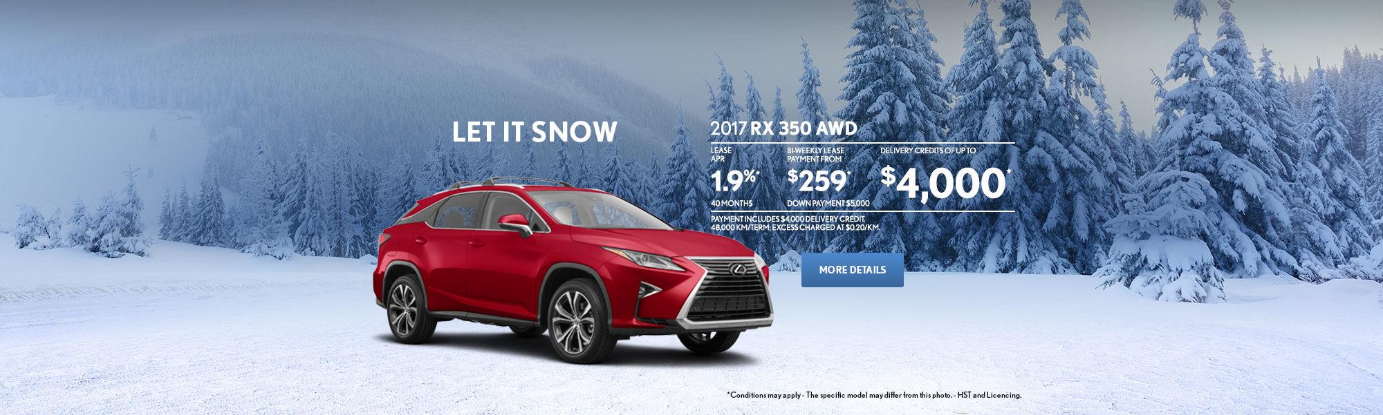 Let it snow - RX