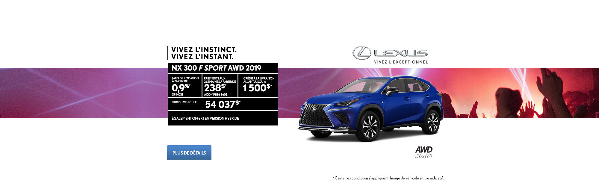 Lexus NX Sport 300 2019