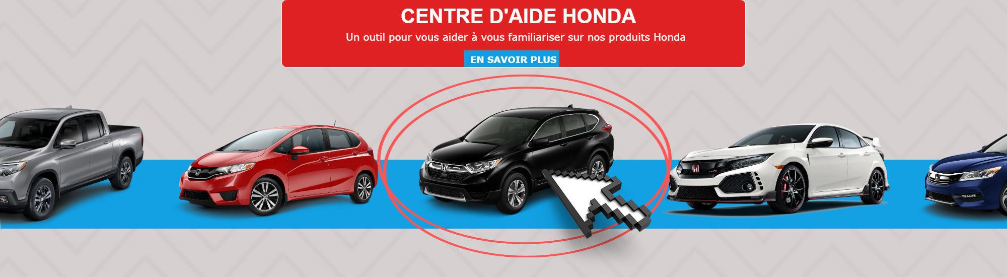 Cente d'aide Honda