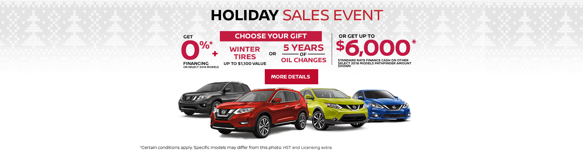 Nissan Monthly Event