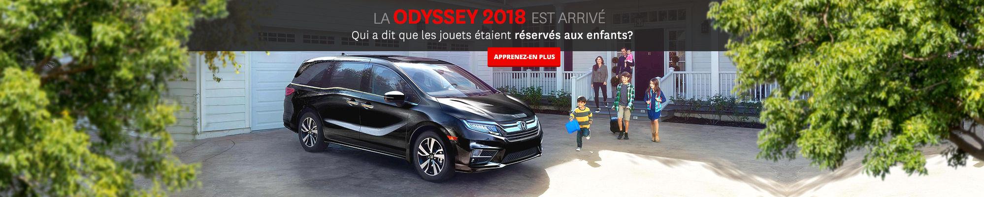 Odyssey 2018