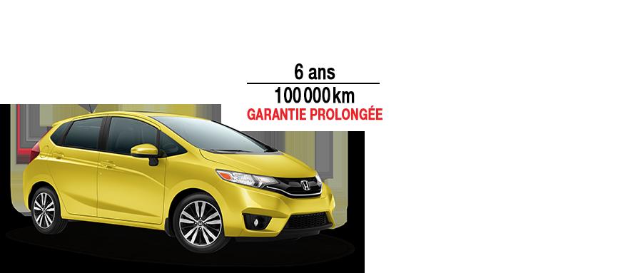 Garantie Prolongée GRATUITE avec l'achat d'une Honda Fit 2015