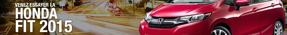 venez essayer notre Honda Fit 2015