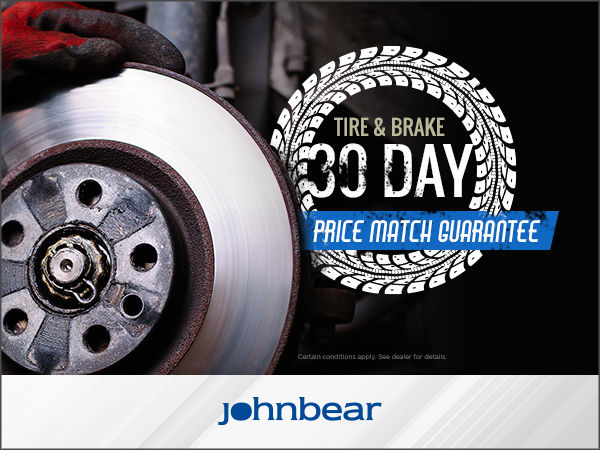 Tire & Brake 30 Day Price Match Guarantee