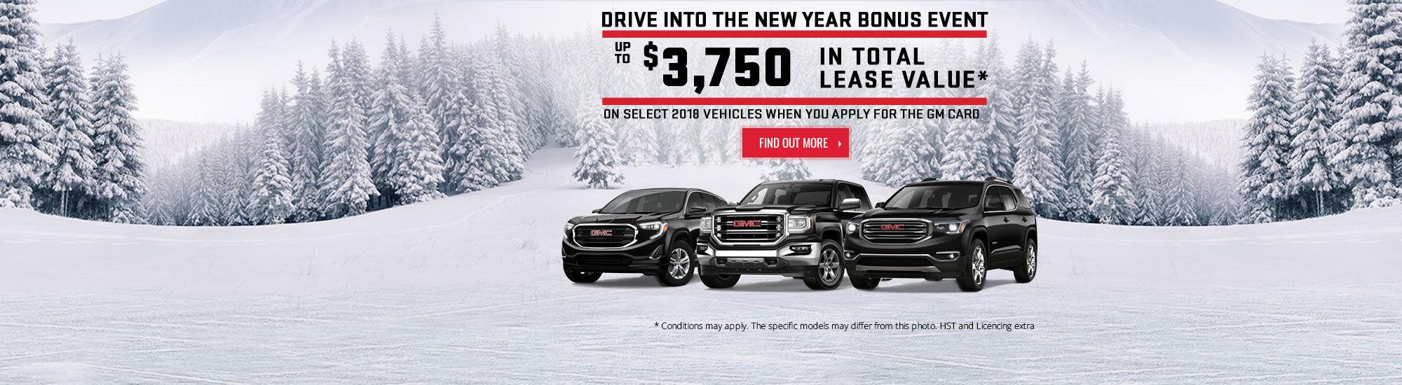 Drive Into the New Year Bonus Event
