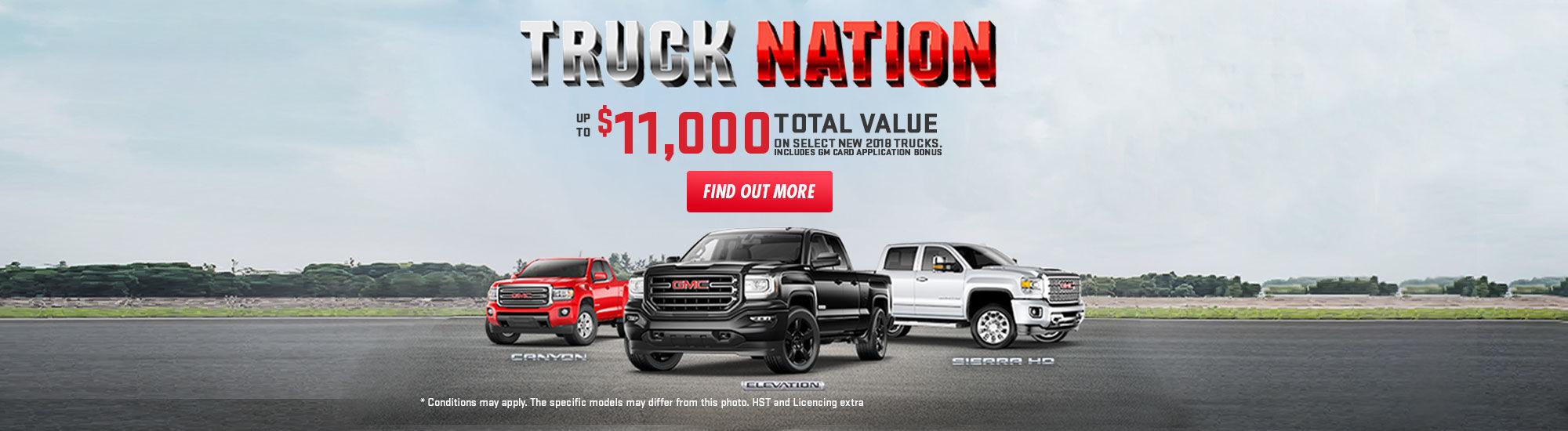 Truck Nation Sales Event - GMC web