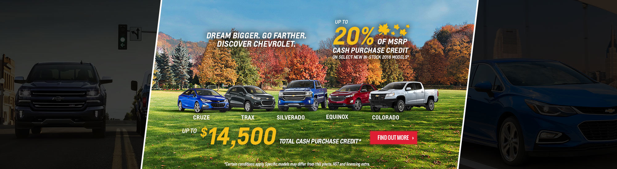 Chevrolet Monthly Event