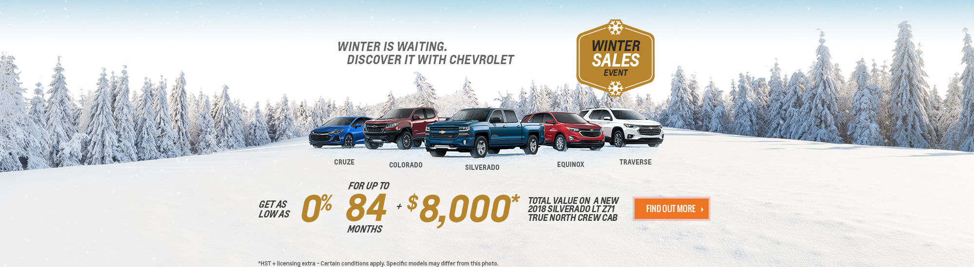 Chevrolet Winter Sales Event