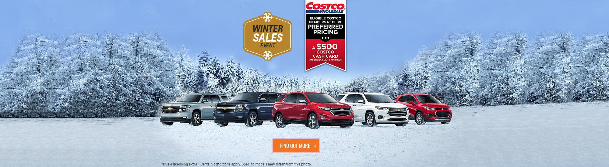 Chevrolet Costco Sales Event