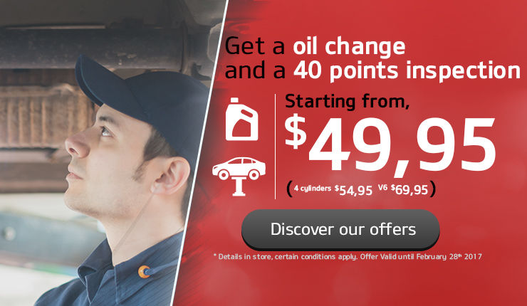 Header Changement d'huile/inspection