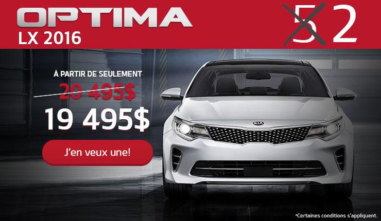 Offrez-vous une Kia Optima LX 2016 header
