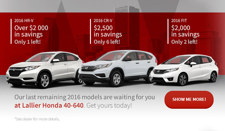 Sale 2016 models