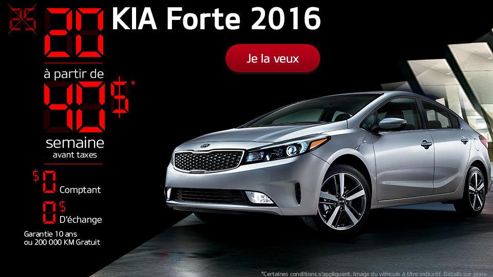 20 KIA Forte 2016