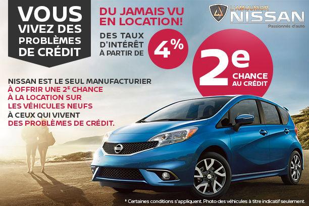 Du jamais vu en location chez Nissan!